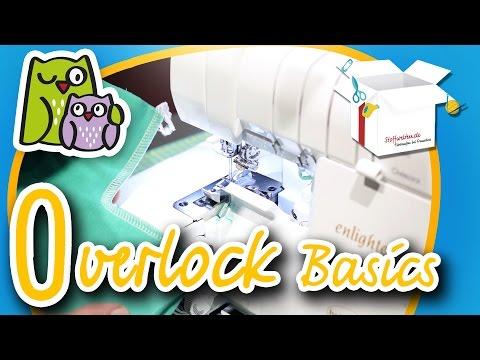Overlock Basics | Nählexikon A-Z #15 | Nähschule Anleitung Nähen lernen für Anfänger