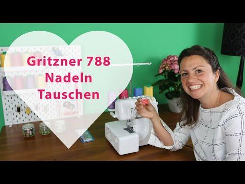 Gritzner 788 Nadeln wechseln - Schritt für Schritt erklärt!
