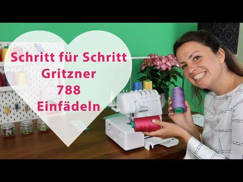 Gritzner 788 einfädeln lernen - Schritt für Schritt erklärt 😍Werde ein Einfädelfuchs!