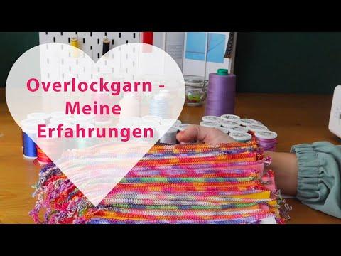 Welches Overlockgarn kaufen - Ackermann, Gütermann, Madeira, Bauschgarn, Multicolor Overlock Nähgarn