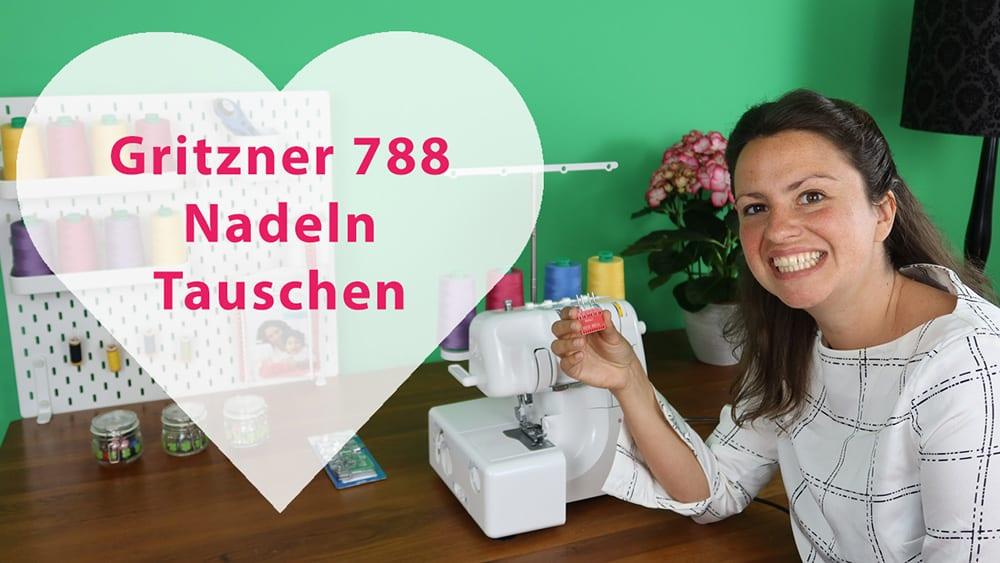 Gritzner 788 Nadeln wechseln